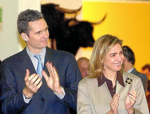Iñaki Urdangarín y Cristina de Borbón, duques de Palma de Mallorca.