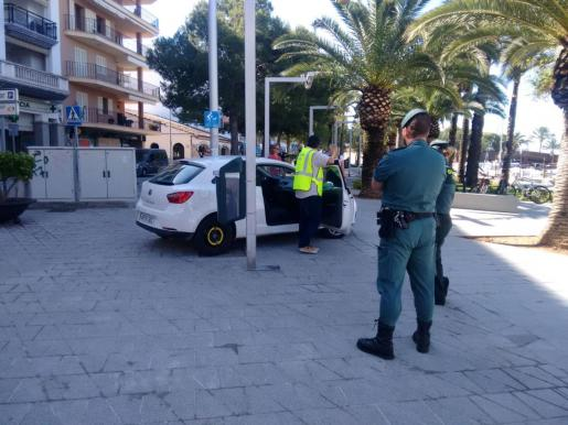 La joven detenida por la Guardia Civil también robó en Artà.