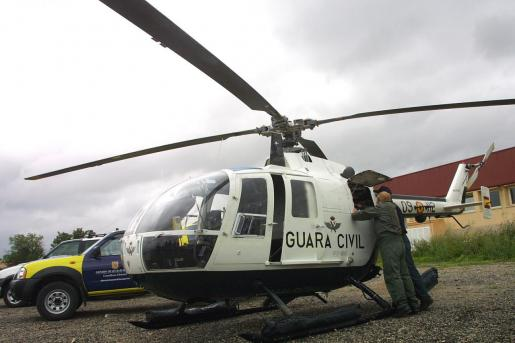 Imagen del helicóptero del GREIM.
