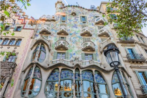 La Casa Batlló es una atracción turística de Barcelona mundialmente conocida.