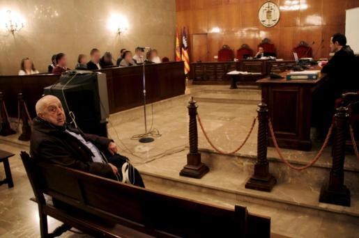 Miquel Llodrà, durante el juicio por el que ha sido declarado culpable de homicido imprudente.