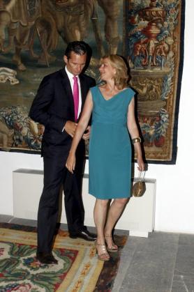 Imagen de arvhivo de la Infanta Cristina y su marido, Iñaki Urdangarín, en Palma.