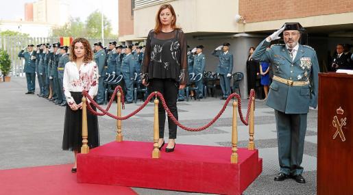 La presidenta tendrá ahora a su mando al coronel de la Guardia Civil con la consellera Catalina Cladera como mando interpuesto.