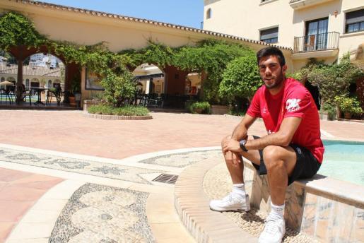 Salva Ruiz, actual jugador del Real Mallorca.