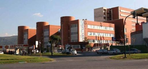El menor fue tratado en el Hospital Universitario Virgen de la Arrixaca.