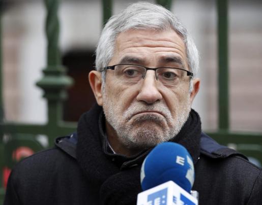 El excoordinador de IU Gaspar Llamazares.