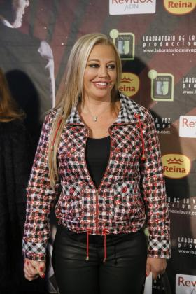 Imagen de archivo de la colaboradora del programa 'Sálvame', Belén Estéban, en el estreno de 'Iba en serio'.