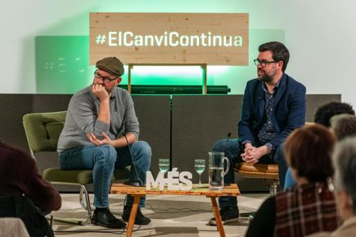 El acto de Més per Palma: 'Noguera i Noriega: Diàleg entre les ciutats del Canvi'
