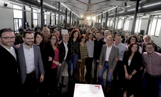 Imagen del acto celebrado este sábado en la Fábrica Ramis de Inca.