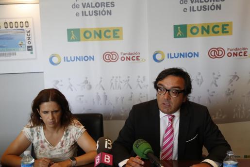 Carmen Soler y Josep Vilaseca en rueda de prensa.
