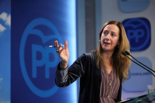 La vicesecretaria de Comunicación del PP, Marta González.