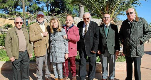 José Oliver, Tito Klein, Olivia Vega, Bernardo Felíu, Tummy Bestard, Francisco Massanet y Juan Carlos Mascaró.
