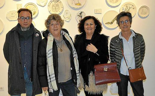 Marcos Vidal, Bel Ramis, Estrella Terol y Montse Urbón.