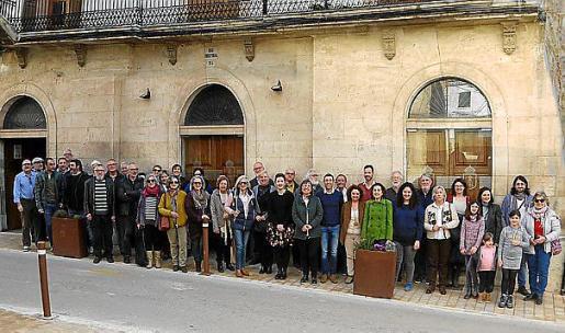 Imagen de la asamblea de Més que eligió a Guillem Rosselló.
