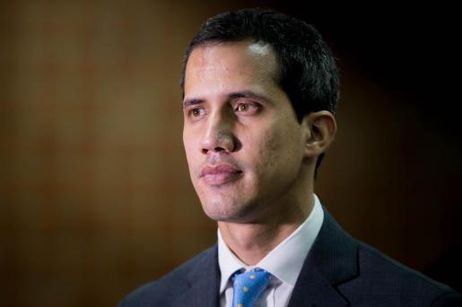 El jefe del Parlamento de Venezuela, Juan Guaidó.