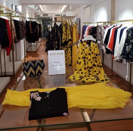 La boutique cuenta con 70 metros cuadrados y comparte ubicación con las principales tiendas de moda nacionales e internacionales.
