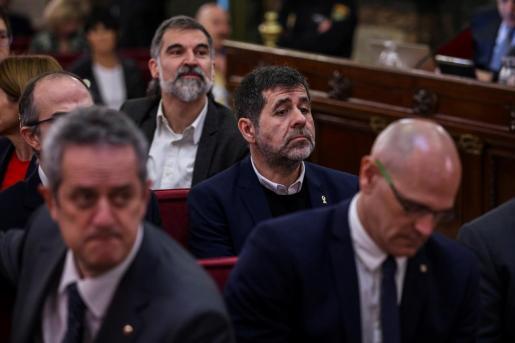 El expresidente de la Asamblea Nacional Catalana (ANC) Jordi Sánchez.