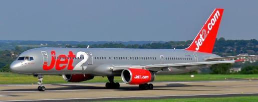 Un vuelo de la compañía Jet2.
