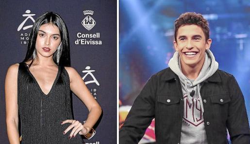 Lucía Rivera es la nueva novia del piloto Marc Márquez.