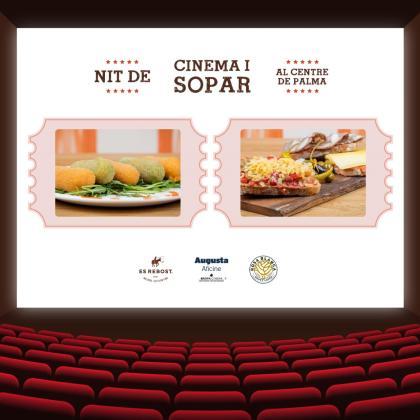 Promociones de cine y cena en Es Rebost.