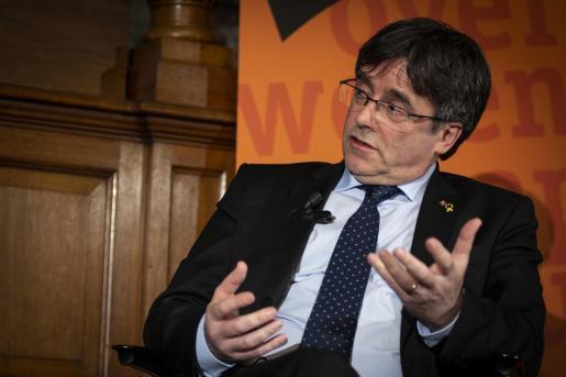 El expresidente de la Generalitat de Cataluña Carles Puigdemont.