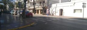 Un coche atropella a una mujer con un carrito de bebé en Santa Eulària