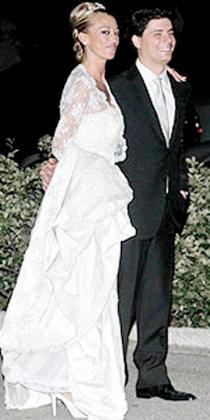 Belén Esteban y Fran se casaron el 27 de junio de 2008.