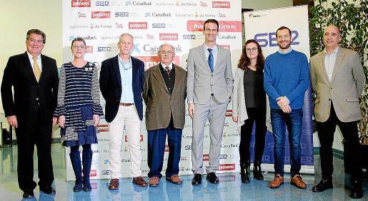 Daniel Aldeguer, Jero Pérez, José Falcó, Sebastià Camps, Jordi Mora, Neus Aguiló, Jordi Ber y Martín Millán Llull.