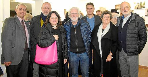 Pere Ollers, Miquel Ensenyat, Kika Coll, José Ferragut Canals, Juanjo Caldés, Margarita y Antoni Ferragut Llinás.