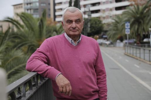 Fulgencio Coll es el candidato de Vox a Cort en las elecciones del próximo 26 de mayo.