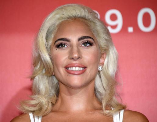 La artista Lady Gaga durante la presentación de 'Ha nacido una estrella' en el 75º Festival Internacional de Cine de Venecia.