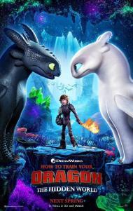 Cartel de la película 'Cómo entrenar a tu dragón 3'