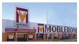 La marca Moblerone está presente en un gran número de provincias españolas.