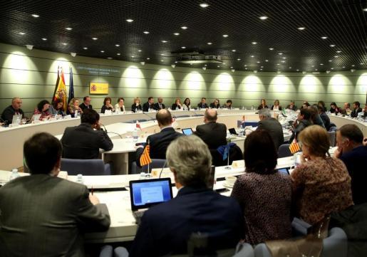 La Conferencia Sectorial de Empleo del Ministerio de Trabajo, Migraciones y Seguridad Social, celebrada este jueves en Madrid.