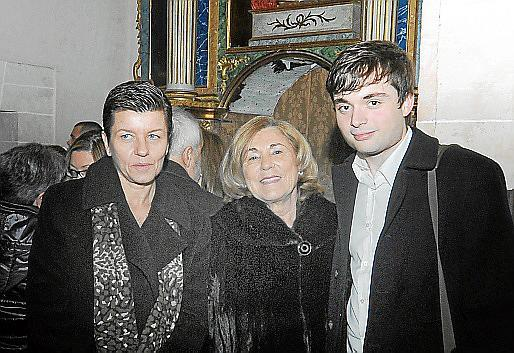Carmen Serra, Joana Pons y Francisco García Fullana.