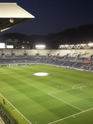 Panóramica del estadio Heliodoro Rodríguez López de Tenerife