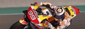 Jorge Lorenzo estrena los colores del Repsol Honda de MotoGP