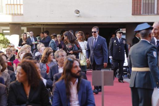 El juez Manuel Penalva, durante una fiesta de la patrona de la Guardia Civil en Palma.