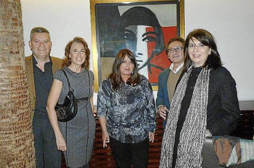 Daniel Paradela, Bego Moragues, María Carbonero, Jaime Martorell y Concha Calvo.