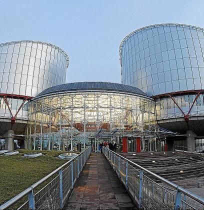 Sede del Tribunal de Justicia de Estrasburgo.