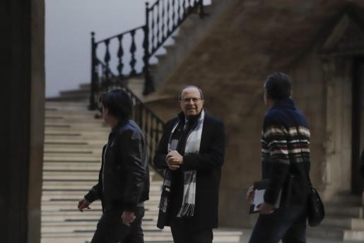 José María Rodríguez, este lunes antes de retomarse el juicio del caso Over.