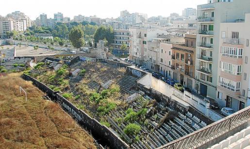 El Lluís Sitjar se encuentra en un lamentable estado de degradación.