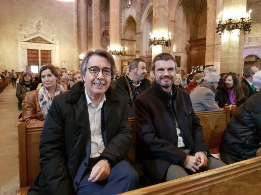Xavier Pericay y Marc Pérez Ribas son dos de los afiliados de Ciudadanos que tienen previsto presentarse a las primarias para encabezar la candidatura al Parlament balear.