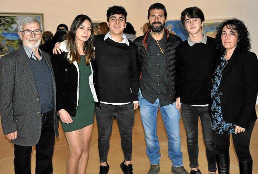 Antoni Marquet, Anabel Granado, Toni Marquet, Toni Marquet, Xavier Marquet y Maria Romàn.