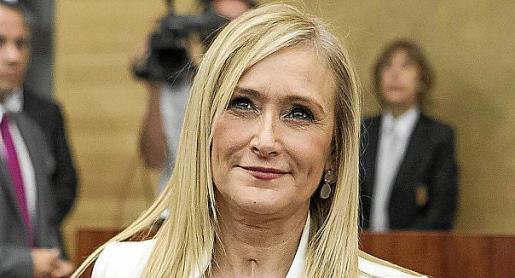 La expresidenta madrileña Cristina Cifuentes.