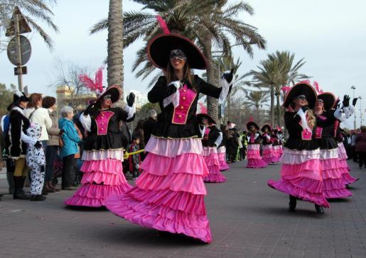 El carnaval de la Playa de Palma es uno de los más concurridos.