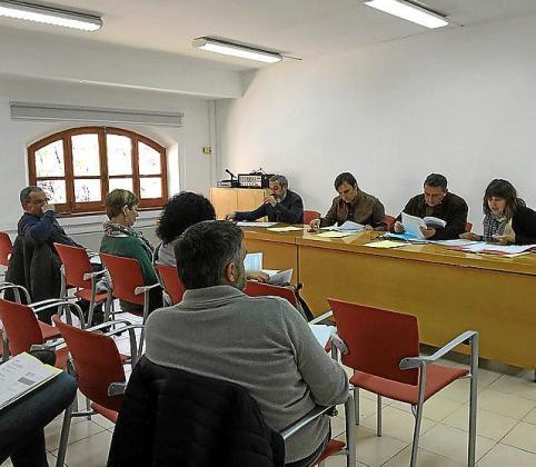 La junta de patronos de la Fundació Mallorca Literària se reunió este martes para aprobar la adjudicación de estas obras.