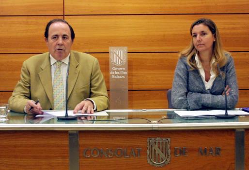 José María Rodríguez y María Luisa Ginard, en una imagen de 2005.