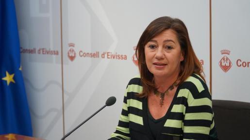 La presidenta Francina Armengo.