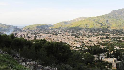 Vista general del pueblo de Sóller.